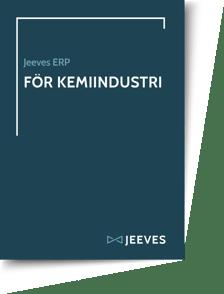 Jeeves ERP för Kemiindustri Cover