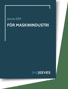Jeeves ERP för Maskinindustri Cover