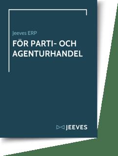 Jeeves ERP för PartiAgenturhandel Cover