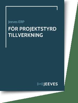 Jeeves ERP för Projektstyrd Tillverkning Cover